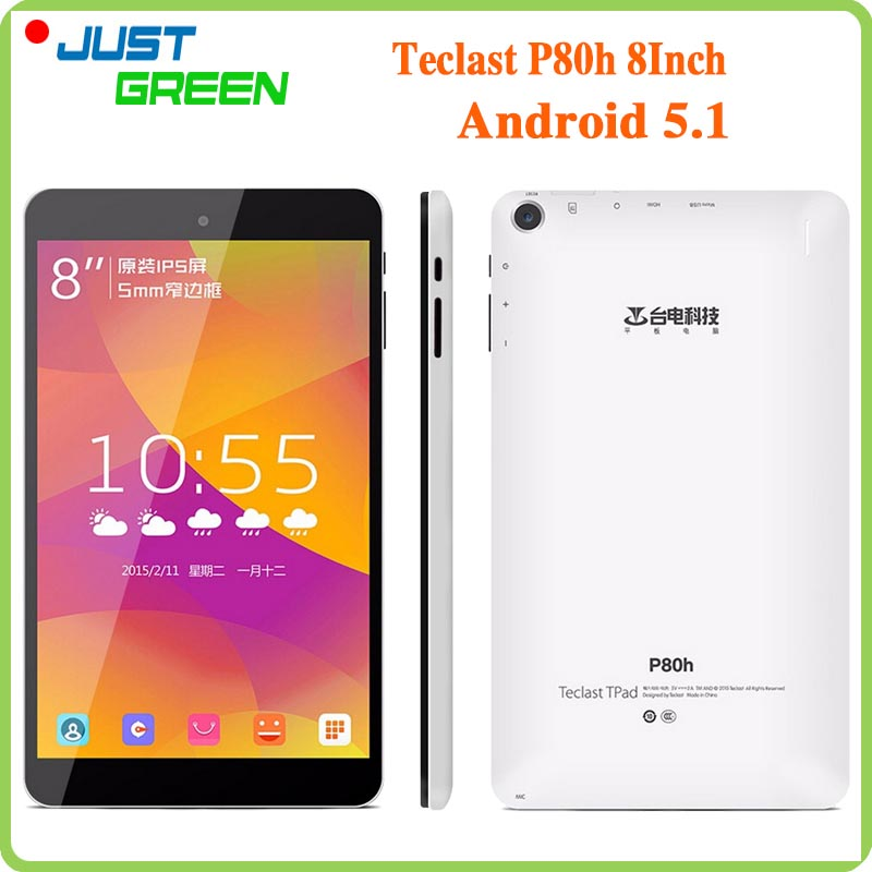 Original Teclast P80H MID 8 inch 1280x800 IPS MTK8163 Quad Core 1GB RAM 8GB ROM 2MP