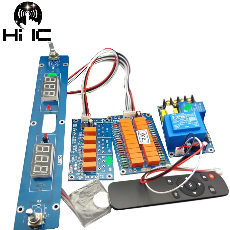 HiFi Infrared Remote Control Volume Control Adjust Board ALPS27 Amplifier Preamp Motor Potentiometer Board Reference GOLDMUND