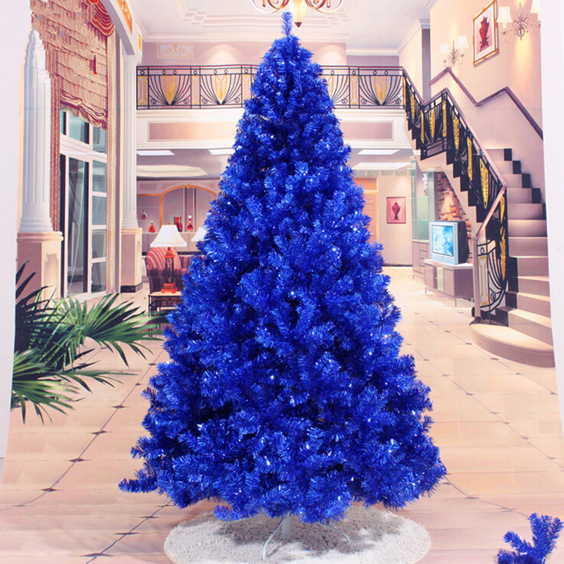 navy blue christmas tree decorations - Blue Christmas Tree