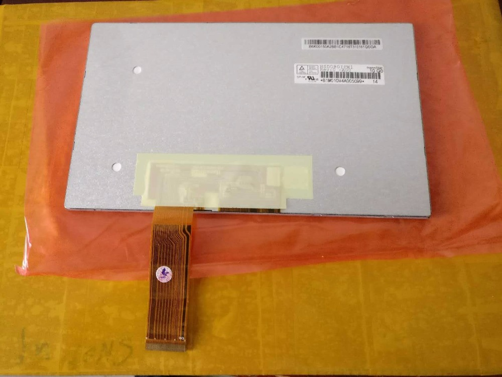 HannStar 8.0 Inch HD TFT LCD Screen HSD080IFW1-A00 WSVGA 1024(RGB)*600 LCD Display Screen