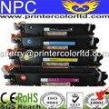 Venda QUENTE para hp 126A CE310A, CE311A, CE312A, CE313A, Cartucho De Toner a Cores Compatível Para HP CE310 para HP CP1025/1025NW 4 pçs/lote