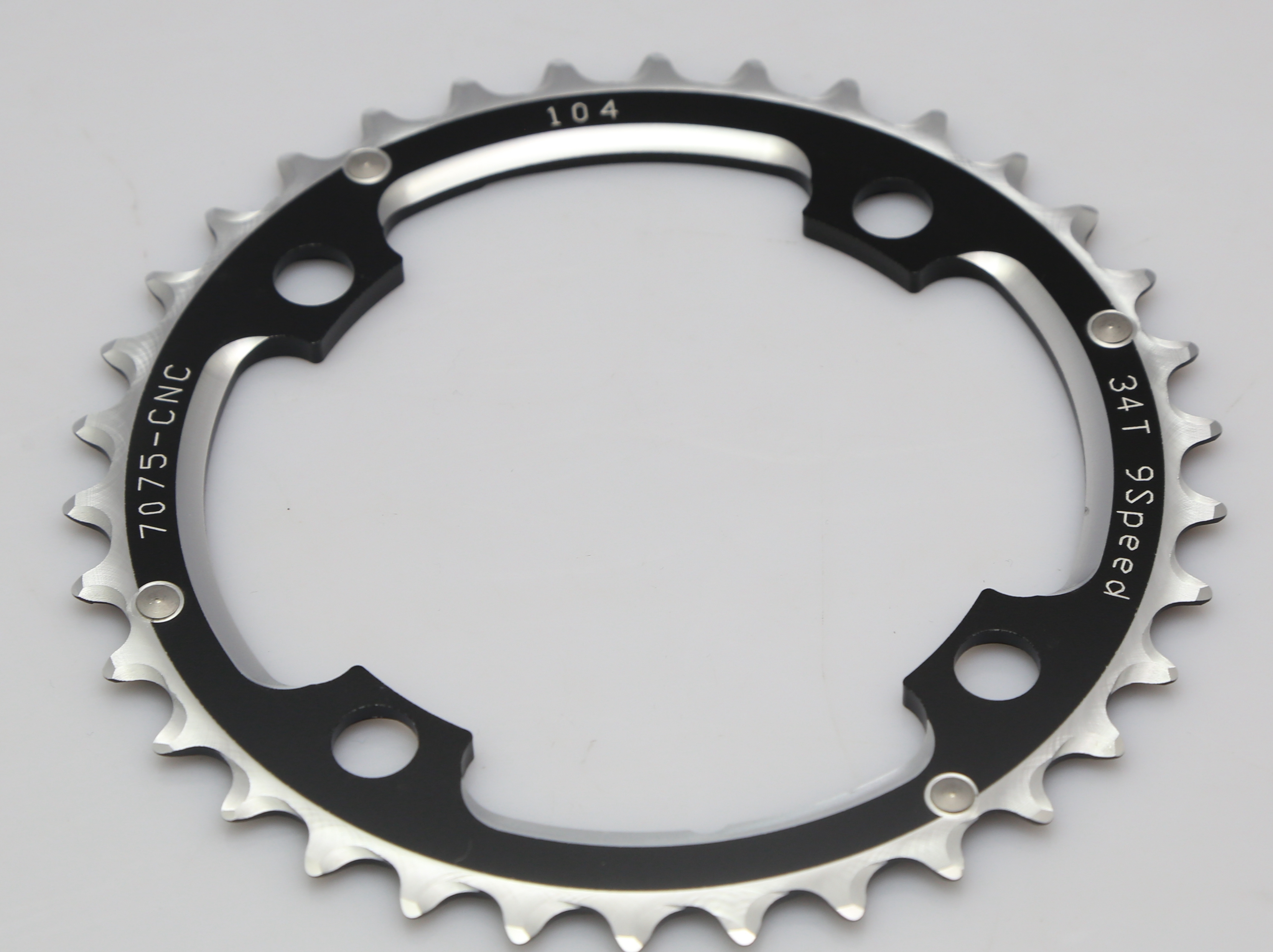2016 NEW Driveline black 34T BCD 104mm 49g MTB chainring2016 NEW Driveline black 34T BCD 104mm 49g MTB chainring