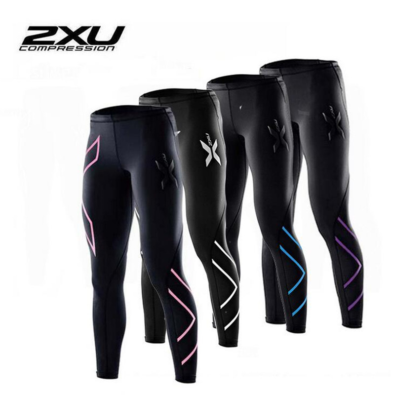 2xu women compression fitness tights female pants Joggers Superelastic stretch pants breathable Joggers trousers 6color