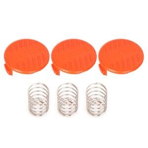 3 шт. крышки для газонокосилки, аксессуары для газонокосилки, триммеров, сменных частей для инструментов