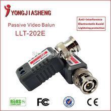 10PCS 5/pairs Upgrade Edition CCTV BNC passive twisted pair Transmitter video balun