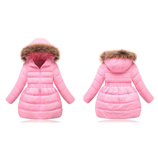 2017 Brand New Children Down Coat for Girls Clothes Children Winter Hooded Down High Quality Girls Winter Warm Coat YY2073