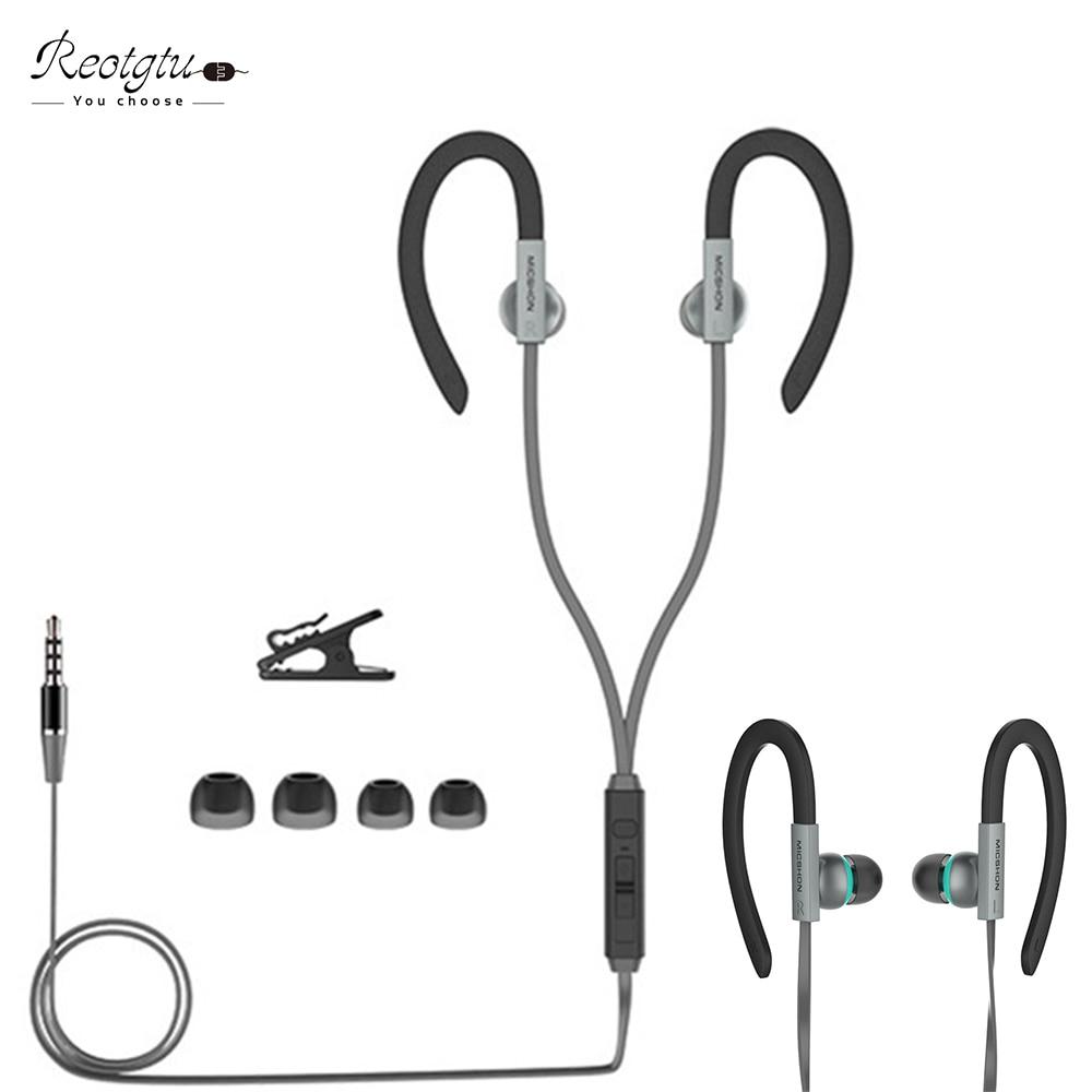 Alta qualidade universal 3.5mm fone de ouvido intra-auricular com - Áudio e vídeo portáteis