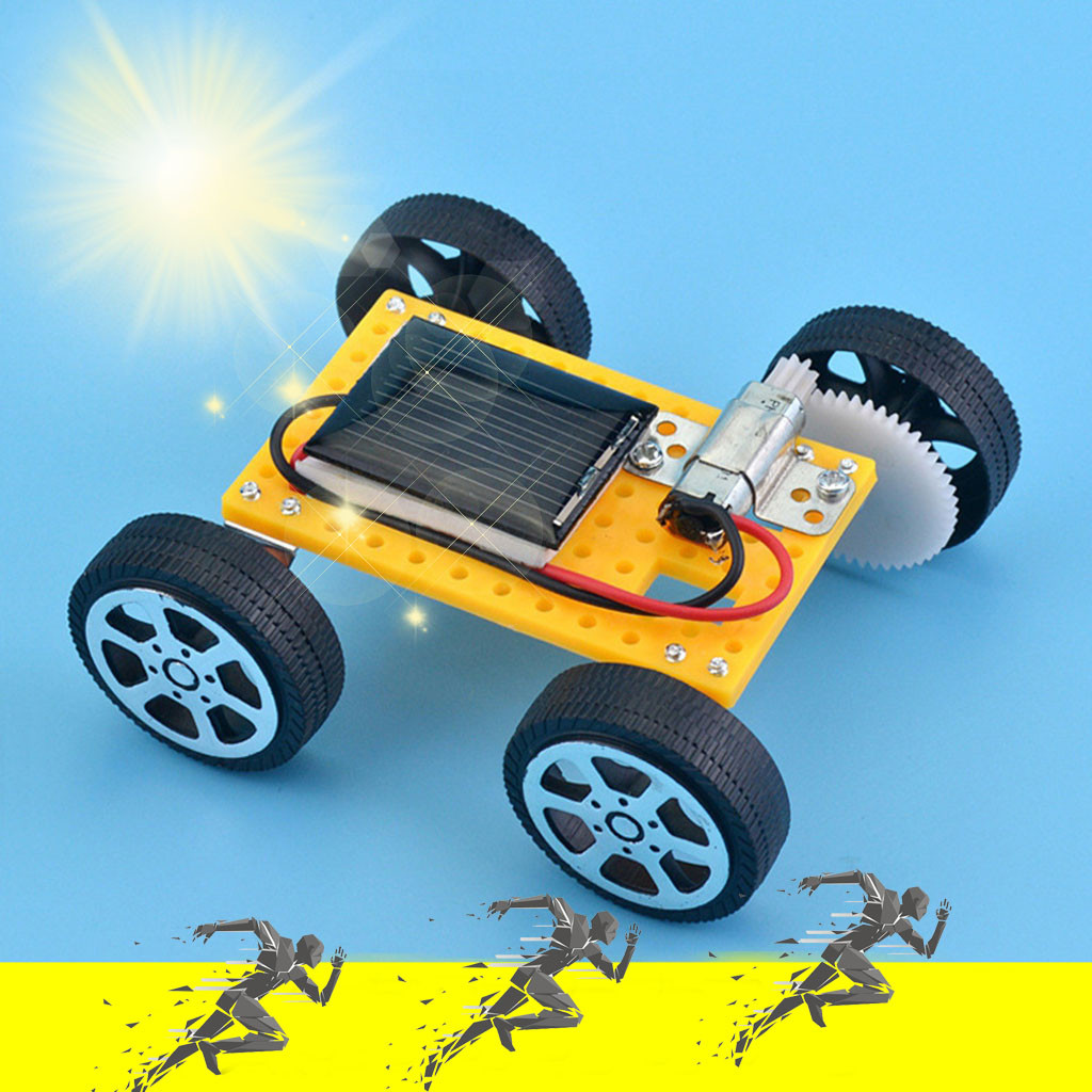 Solar Car Toys Robot Kiti DIY Assemble Toy Set Solar Powered Car Kit Educational Science Toys For Boys Girls Robot Kit Robot Car