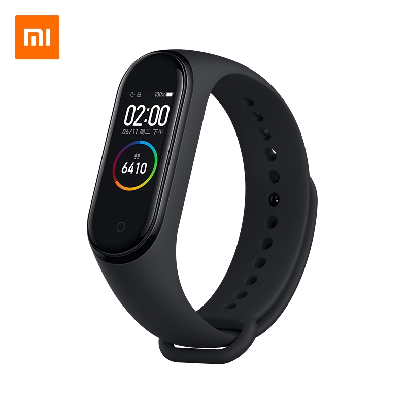 Xiaomi Mi Band 4 Smart Wristband Miband 50m Water Resistance 2 5D Tempered Glass Color Screen