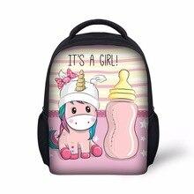 Kawaii Unicorn Print Bag for Kids