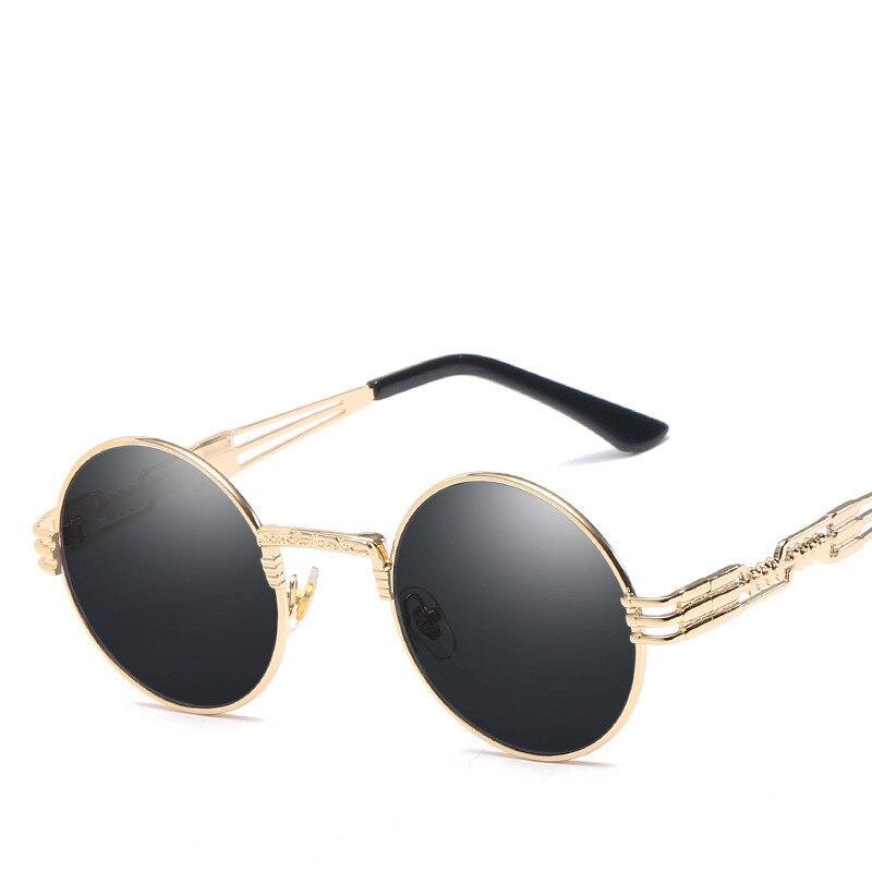 LONSY Übergroße runde Retro-Sonnenbrille Frauen Markendesignerin - Bekleidungszubehör - Foto 2