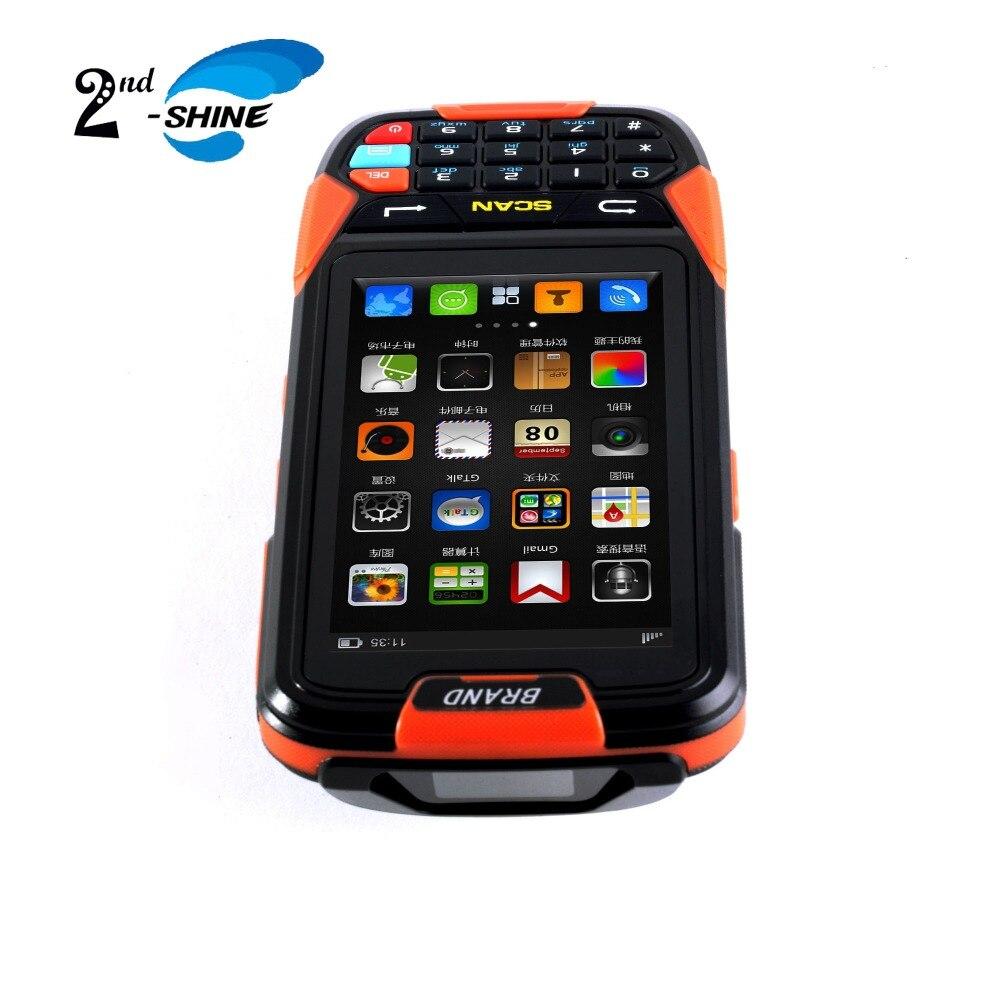 Handheld Laser 1D Barcode Scanner Mit 16G Rom Android 7.0 OS Hohe Geschwindigkeit - 2