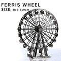 Новый творческий колесо обозрения 3D головоломки 3D модель здания металл творческий DIY лобзики взрослые / дети подарки игрушки идеальный подробности и т . д .