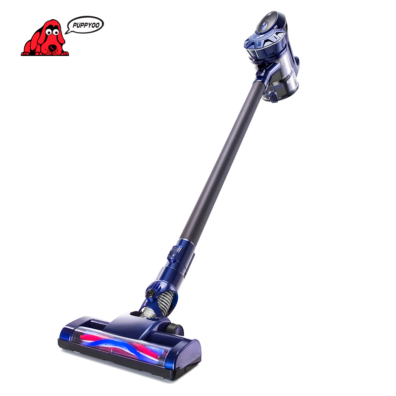 PUPPYOO WP536 Cordless Handheld Home Vacuum Cleaner Wireless Aspirador Inalámbrico Aspirador de Mano con Batería de Litio