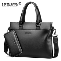LEINASEN 2017 New Brand Men S Satchel Handbag Shoulder Bags Men Cross Body Bag Laptop Bag