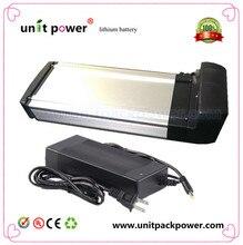 Bicicleta eléctrica de la batería 36 v 10ah parrilla lithium ion battery pack para ebike con BMS y caja de control