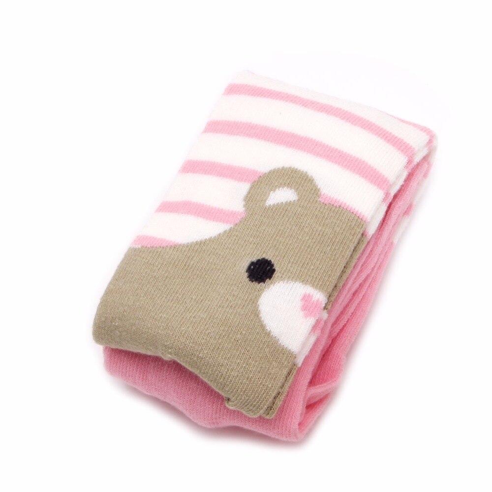 Одежда для малышей Обувь для девочек Медведь хлопковые колготки Брюки для девочек детские Чулки для женщин Брюки для девочек трикотажные колготки для 0-3 лет