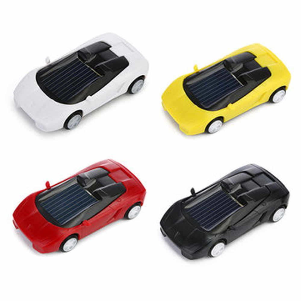 Solar Toys Car  Powered Mini Car Racer Toy For Kids Solar Energy Educational Gadget Gift   For Kids #40