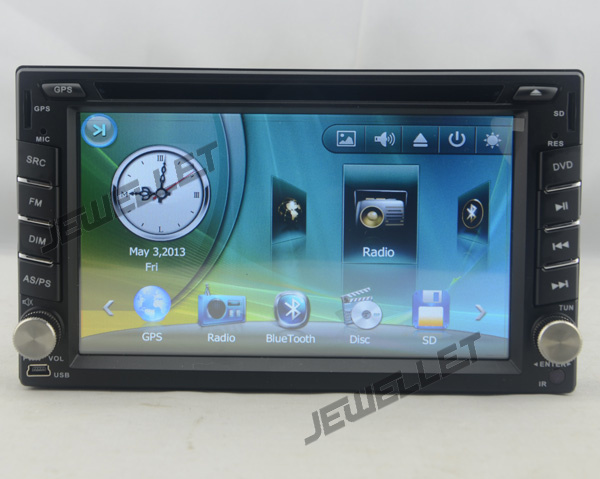 Car DVD GPS radio Navigation for Hyundai Accent Verna Tucson Brio Avega with Bluetooth I ...