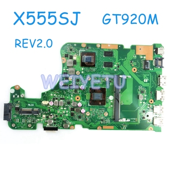 X555SJ MB_0M N3050/N3150CPU GT920M/2G laptop motherboard for ASUS X555 X555S X555SJ A555S A555SJ mainboard laptop Motherboard