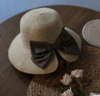 Xin ren Ms. summer sun hat, UV visor cotton bow Riding Hat female sun hat