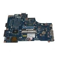 NOKOTION CN 0HKJ53 HKJ53 0HKJ53 For dell Inspiron 17R 3721 3521 Laptop motherboard VAW00 LA 9104P SR0N9 I3 3217U cpu