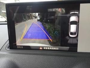 Image 5 - Pour Audi A3 8V Facelift MIB unité 8V0 827 566 B 5Q0980556B caméra de recul poignée de coffre avec ligne de guidage haute