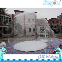 Outdoor Transparent Inflatable Bubble Tent Free Shipping With High Quality