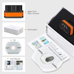 Image 5 - Vgate iCar2 ELM327 obd2 ブルートゥーススキャナー elm 327 V2.1 obd 2 Wi Fi icar 2 アンドロイド/コンピュータ/ IOS用の自動診断スキャナ コードリーダー