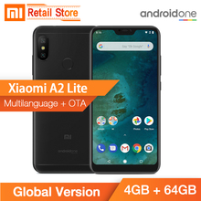 Stokta Küresel Sürüm Xiao mi mi A2 Lite 4 GB 64 GB Snapdragon 625 Octa çekirdek 5.84 Inç 19:9 tam ekran Çift AI Kamera CE FCC ID