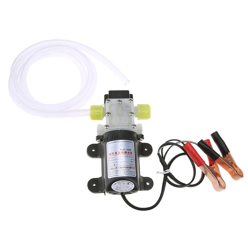 45W 12V Electric Methanol Oil Diesel Fuel Pump Hydraulic Engine Oil Extractor Transfer Set Professional Diesel Suction Pump цена и фото