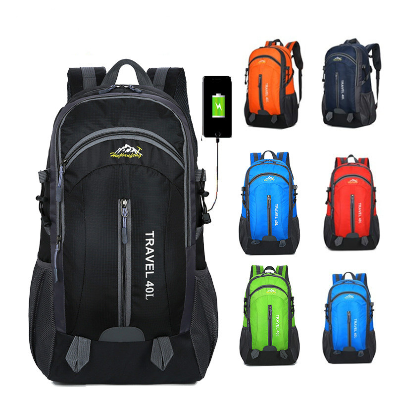 HTB1oStGczbguuRkHFrdq6z.LFXaz 40L Waterproof Backpack Hiking Bag Cycling Climbing Backpack Travel Outdoor Bags Men Women USB Charge Anti Theft Sports Bag