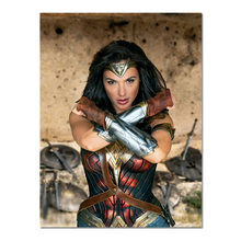 Wonder Woman Poster Gadot Movie Posters And Prints Film Poster Bar Bedroom Cafe Decor Picture(China)