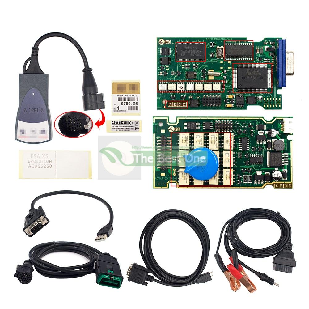Golden Full Chips lexia 3 921815C Firmware Diagbox V7.83 Lexia3 PP2000 V48/V25 lexia-3 For Citroen/Peugeot Car Diagnostic Tool