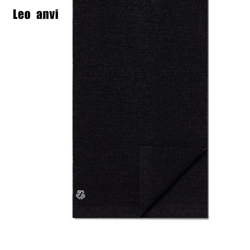 Leo anvi unisex mens women Soft winter scarves brand scarf knited Alloy letter z Cashmere silk wool Shawl Wrap scarfs 180*30cm