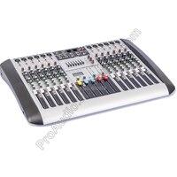 MICWL New 12 Channel 7 Band EQ Audio Music Mixer Mixing Console XLR LINE Input 48V Phantom Power for Recording DJ Stage Karaoke
