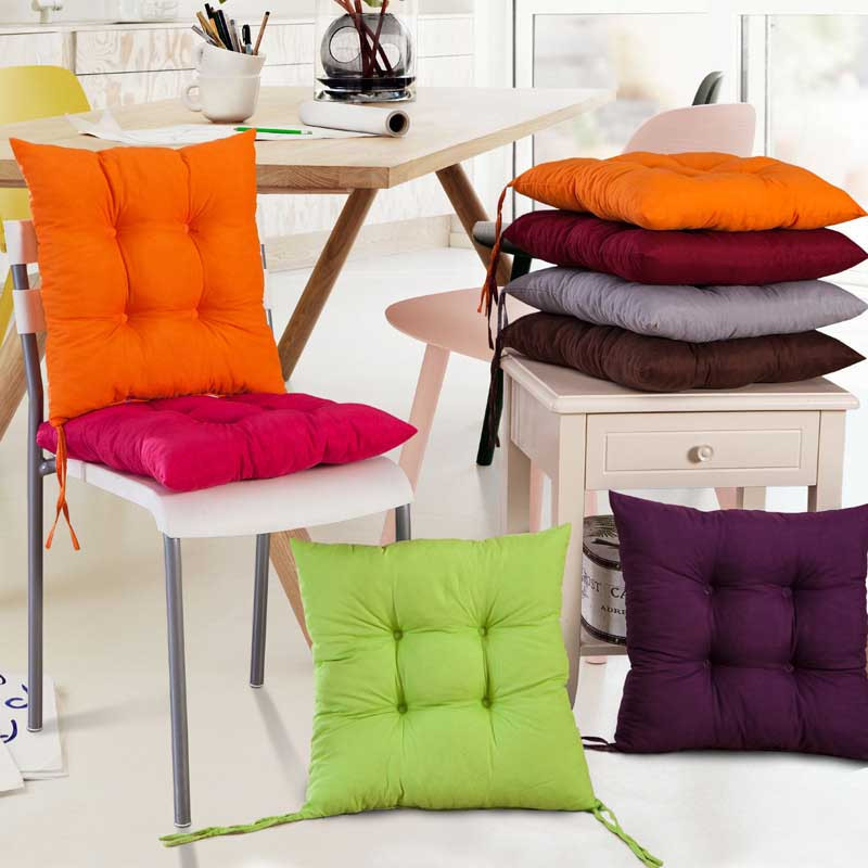 ISHOWTIENDA 2015 1 PC 40*40cm New Cushion Indoor Garden Patio Home Kitchen  Office Chair Pads Seat Pads Cushion New
