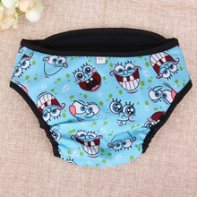 Large Dog Diaper Sanitary Physiological Pants Washable Female Dog Underwear Pets Dogs Supplies  E5M1