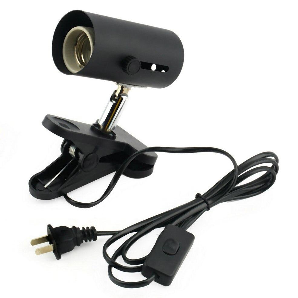 hot Aquarium Reptile Light Holder Clamp Heat Lamp Stand Ceramic Infrared Emitter