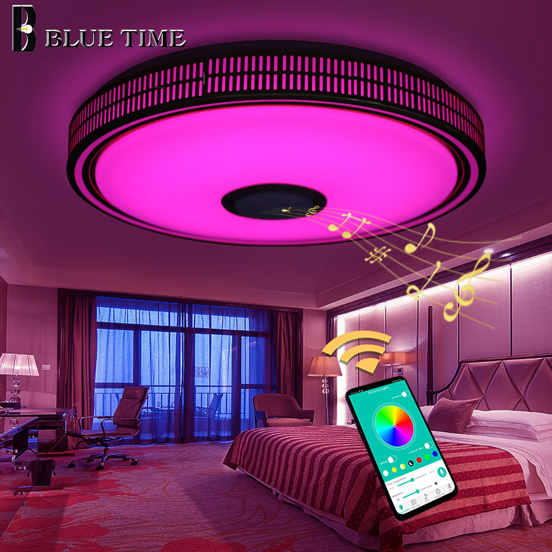 Golden Body Modern LED Ceiling Lights For Bedroom Living Room Dining Room Music Playing Fashion Home Fixtures LED Ceiling LampsGolden Body Modern LED Ceiling Lights For Bedroom Living Room Dining Room Music Playing Fashion Home Fixtures LED Ceiling Lamps