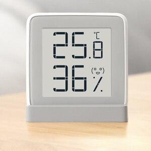 Image 2 - 100% Youpin MiaoMiaoCe E Link حبر شاشة عرض مقياس الرطوبة الرقمية عالية الدقة ميزان الحرارة مستشعر درجة الحرارة والرطوبة