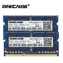 DDR3L RAM 8Gb (2pcs x 8GB)1333MHz 1600MHz PC3 10600/12800 For Intel  Laptop   Memory DIMM 1.35V 204Pin
