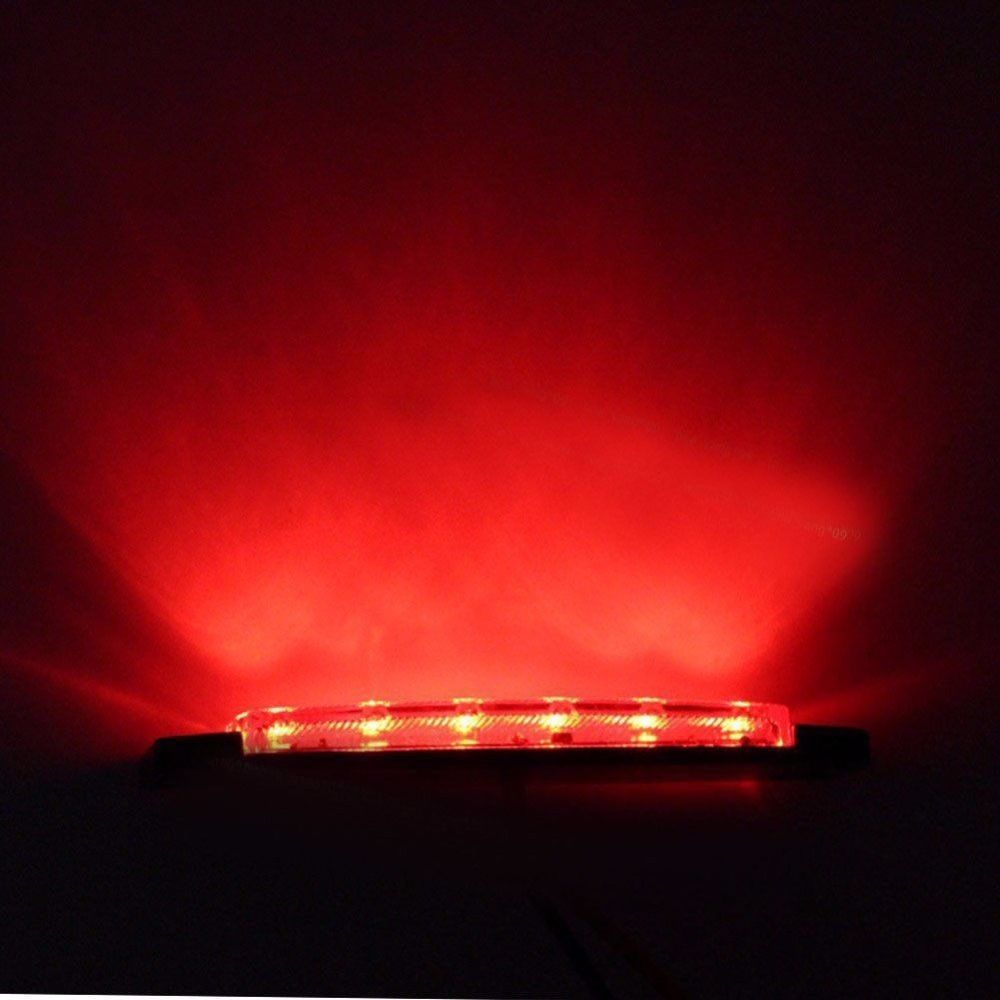 12V Trailer 6LED Indicators Light Truck Boat BUS Side Marker RV Warning Lamp Red