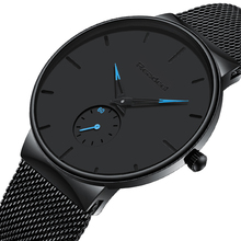 Mens Sports Watches Top Brand Luxury Ultra Thin Casual Water