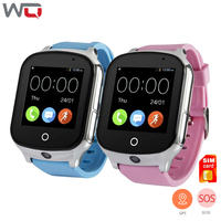 WQ A19 Baby Smart Watch 3G With WIFI GPS Locator Tracker Kid Smart Watch Camera Voice Monitoring Children Smartwatch Android