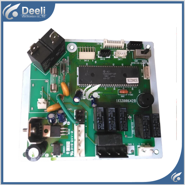 95% new good working for air conditioning computer board KFR-35GW/G 1KGD00642B PC board control board on sale цена