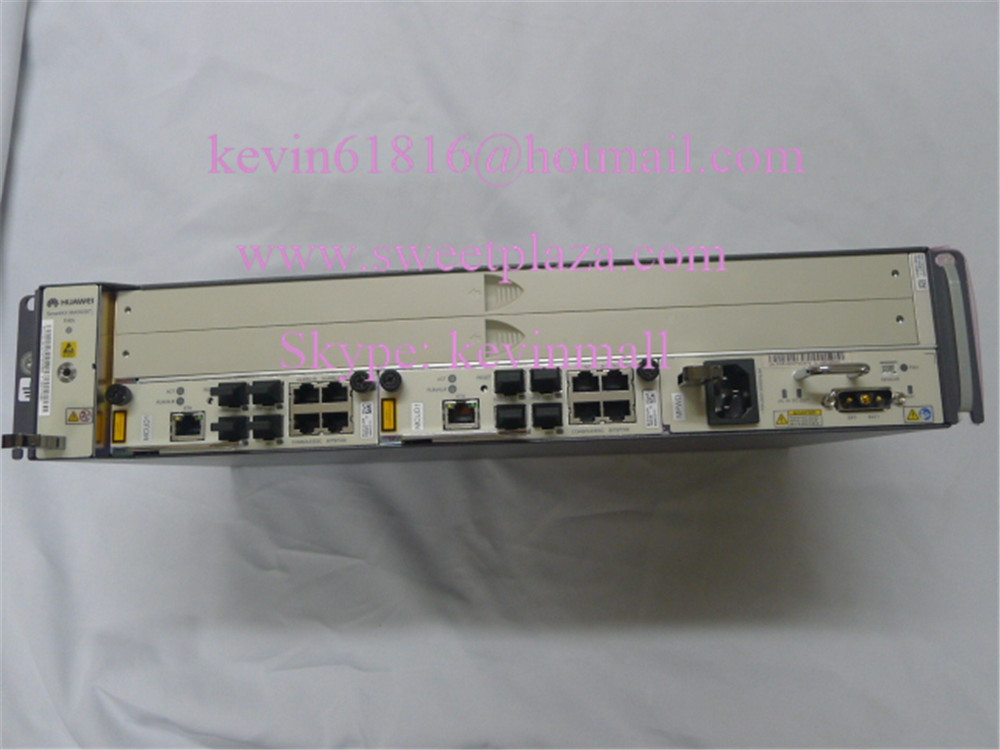 Hot sale GPON or EPON OLT MA5608T with 2 MCUD1 1 MPWD without PON board