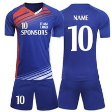 89e7e0efa 2018-2019 Men s Soccer Jerseys Set Custom Name Futbol Club training suits  children football Jersey