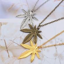 Women's Leaf Shaped Necklace