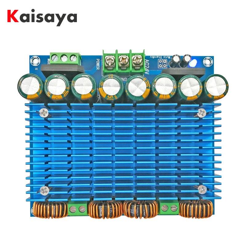 XH-M252 Ultra High Power BTL Mode Dual 24V Stereo 420W x 2 TDA8954TH Dual Chip Class D Digital Audio HIFI Amplifier Board B3-005